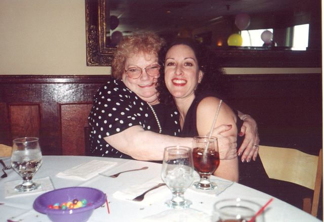 Me and gramma at amanda's communion
